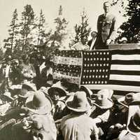 Grand Teton National Park Dedication in 1929