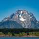 The Grand Teton across the lake landscape