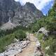 Trail through death canyon at Grand Teton National Park, Wyoming