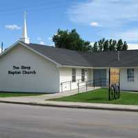 Baptist church in Ten Sleep, Wyoming