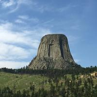 Devil's Tower Monument in Wyoming