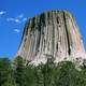Devils Tower National Monument in Sundance, Wyoming
