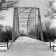 Pick Bridge over the North Platte River in Saratoga, Wyoming