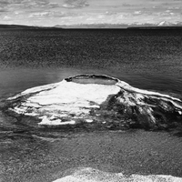 Fishing Cone in Yellowstone Lake, Wyoming