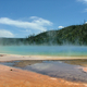 Grand Prismatic Spring in Yellowstone National Park, Wyoming