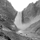 Great Falls of Yellowstone in 1874 in Wyoming