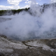 Large Steam coming from great Prismatic Spring