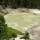 Sulphur Caldron, Mud Volcano area in Yellowstone National Park, Wyoming