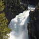 Upper Falls landscape in Yellowstone National Park