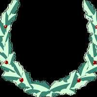 Wreath vector clipart