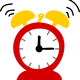 Alarm Clock Vector Graphic