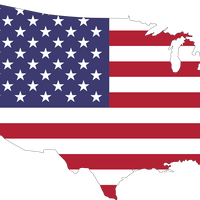American Flag Country vector clipart