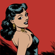 Bad Girl Vector Clipart