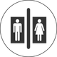 Bathroom Pictogram vector clipart