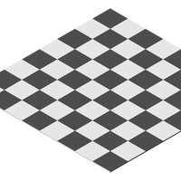Black and White Chess Board vector file