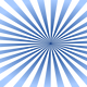 Blue Sunburst Vector Clipart