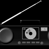 Boombox Vector Clipart