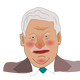 Boris Yeltsin Vector Clipart