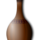 Brown Vase Vector Clipart