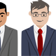 Business people characters Vector Clipart