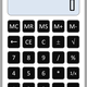 Calculator Vector Art