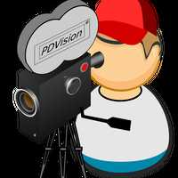 Camera Man Vector Clipart