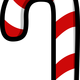 Candy Cane Vector Clipart