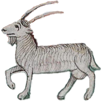 Capricorn vector clipart