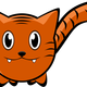 Cartoon Tiger Vector Clipart