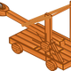 Catapult vector art
