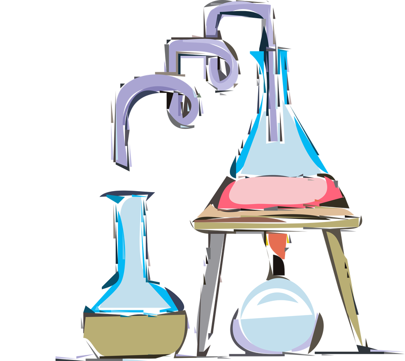 chemistry experiment vector clipart image free stock photo rh goodfreephotos com Solution Chemistry Clip Art Chemistry Lab Clip Art