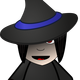 Chibi Witch Vector Clipart