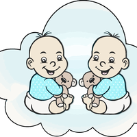 Cloud Babies Vector Files