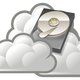 Cloud Drive Vector Clipart