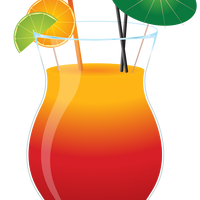Cocktail Glass Vector Clipart
