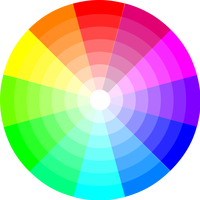 Color Wheel Vector Clipart