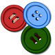 Colored Buttons vector files