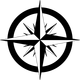 Compass Rose Vector Clipart