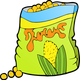 Corn Snack Vector Clipart