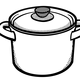 Crock Pot Vector Clipart