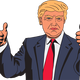 Donald Trump Vector Clipart