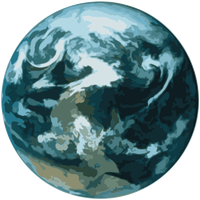 Earth Icon Vector Art
