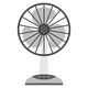 Electric Fan Vector Clipart