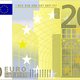 Euro 200 note vector clipart
