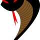 Evil Dark Cobra Vector Clipart