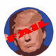 Fail Trump Vector Clipart