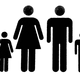 Family of people Vector Clipart