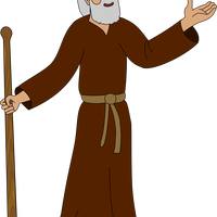 Father Abraham Vector Clipart