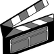 Film Clapper Vector Clipart