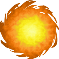 Fireball Vector Clipart